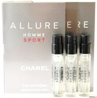 Набор Allure Homme Sport Cologne 2ml + Allure Homme Sport 2ml + Allure Homme Sport Eau Extreme 2ml